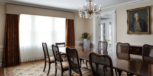 Expansive Home Remodel Woodley Park Washington DC Dining Room