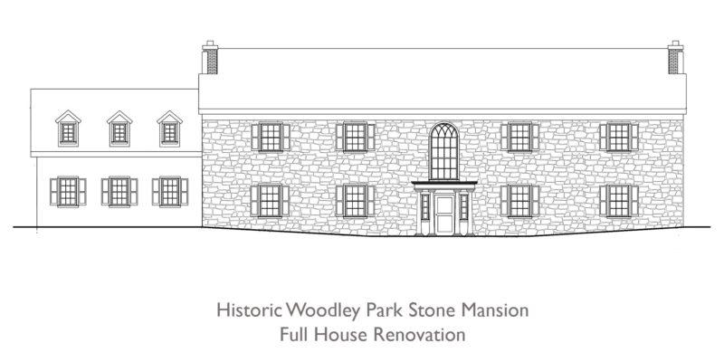 Historic Woodley Park Stone Mansion Full House Renovation