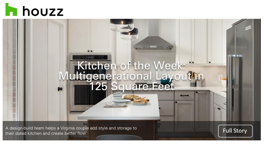 Houzz Kitchen Of The Week August