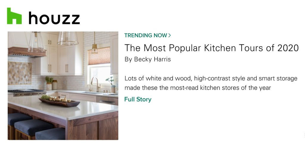 Houzz's The Most Popular Kitchen Tours of 2020