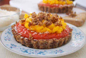 Tropical Fruit Pie
