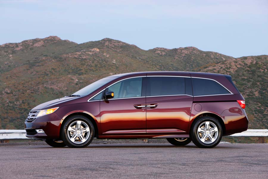 Honda issued a recall for the Odyssey Minivan.