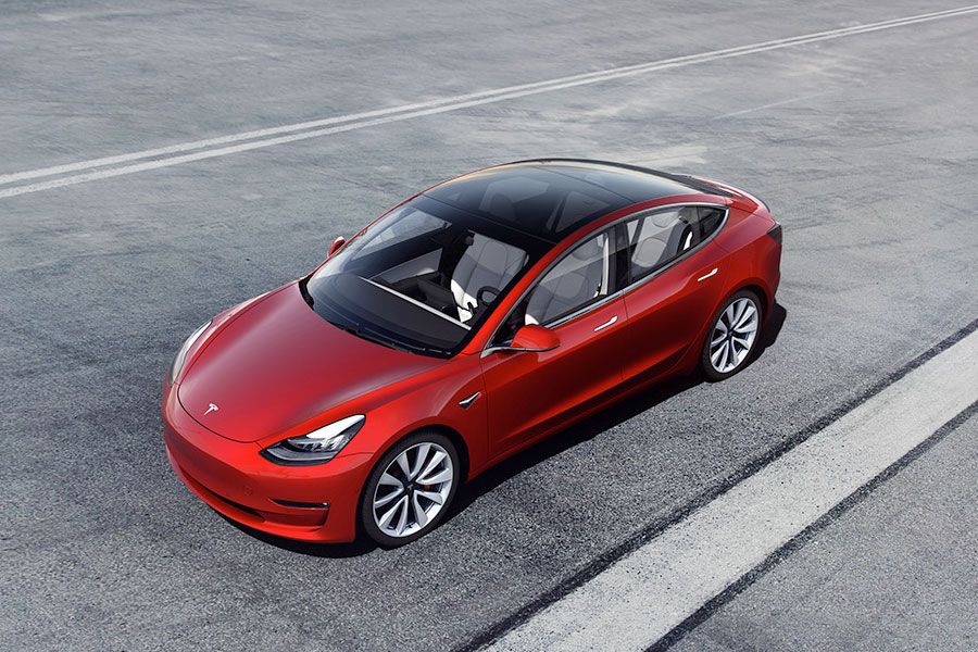 Autonomous driving with the Tesla 3.