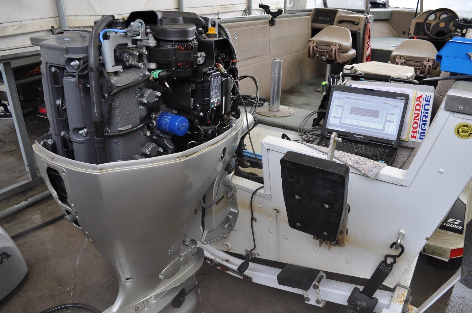 marine engine service