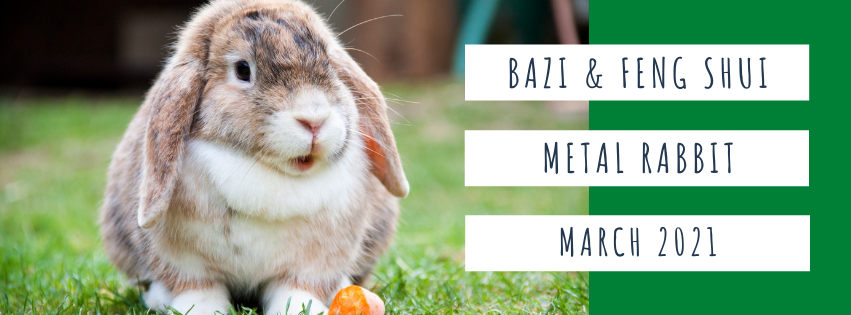 March 2021 Yin Metal Rabbit Feng Shui & BaZi Update