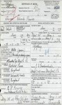 Charles' Death Certificate with incorrect mother's name