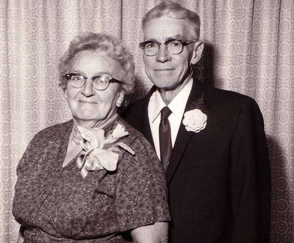 Grandparents Bertha & Paul Gray (c.1970)