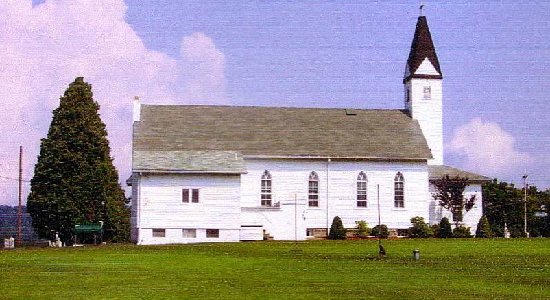 St. John's Lutheran, Cove, MD, resting place of Carl & Margaret Krause