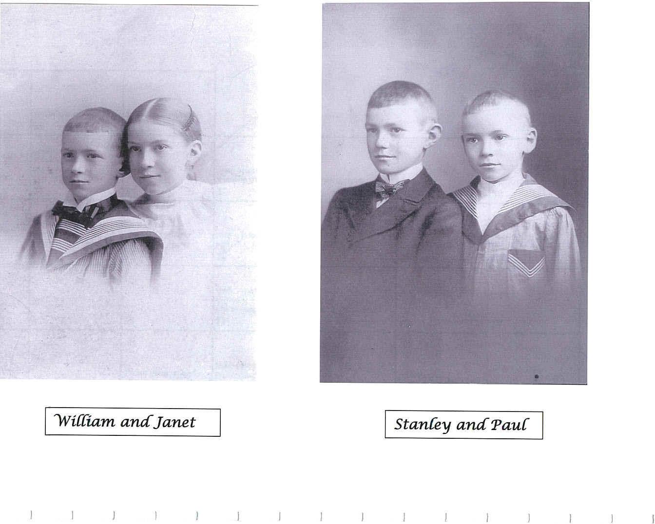 Children of Robert & Annie Norris Gray