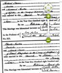 Certificates of 1813 Pearce & Austen weddings (Ancestry.com)