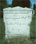 John Marshall stone, Enon Valley, PA