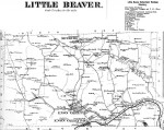 Enon Valley, Little Beaver Twp., Lawrence Co., PA 1872