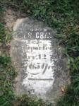 James Craword stone, Greenwood Cemetery