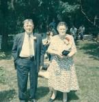 """Charles """"Pop"""" &  Annie Lee """"Mom"""" Krause c. 1950"""
