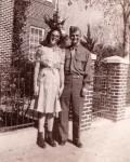 Hilda E. & Richard O. Miller Newly weds Baltimore 1943