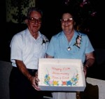 Dick & Hilda Miller Golden Wedding Anniversary