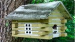 From cement work to woodwork: a Dick Miller birdhouse