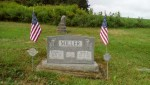 Richard & Hilda's gravestone St. James Lutheran Cemetery Jenner Twp., Somerset Co., PA