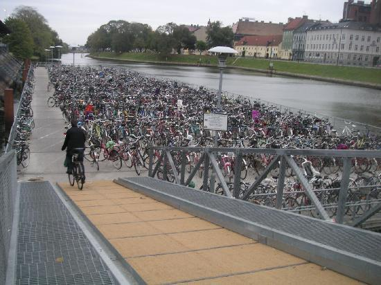 Malmo, a city of bicycles