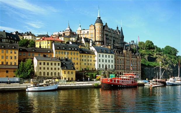 Stockholm, the nation's capitol