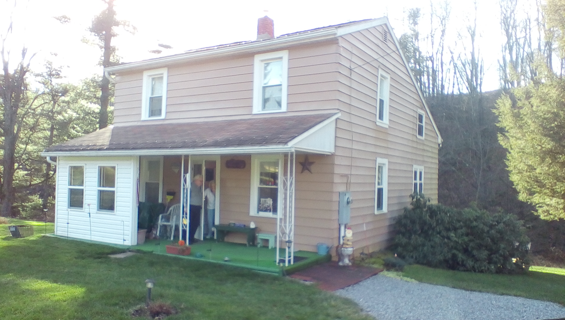 Original Krause house (2015) Cove, MD