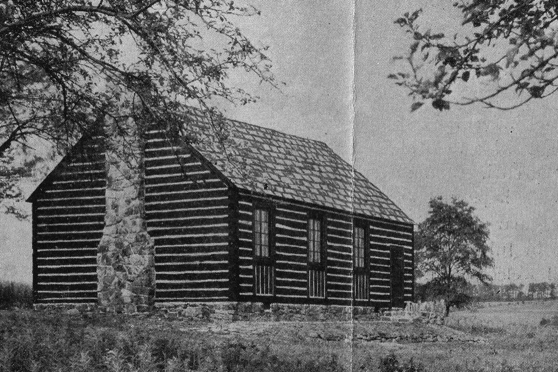 Log Chapel (1930) Pine Springs Camp Jennerstown, PA