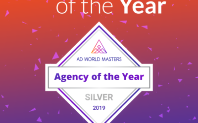 We won Silver in Ad World Masters