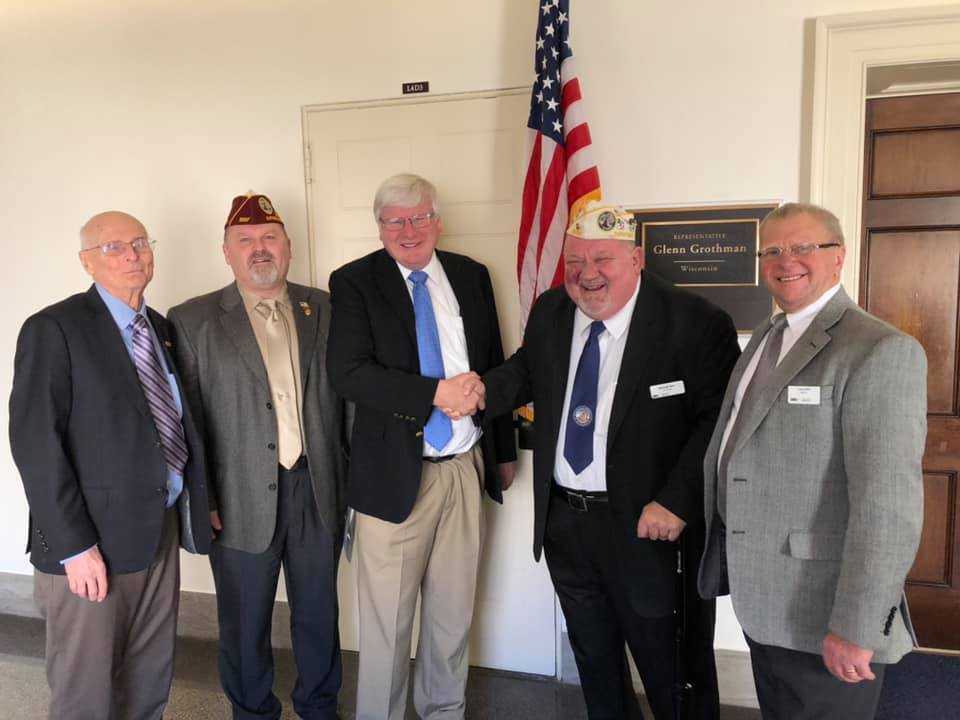 Team DAV-WI with Representative Glenn Grothman