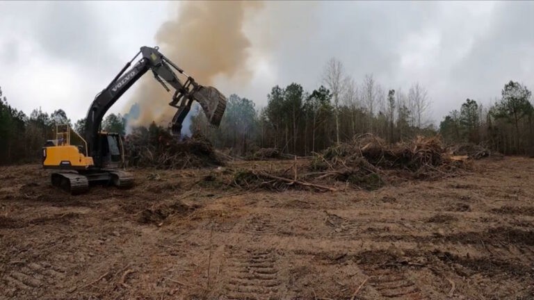 Land Clearing and Site Work in Central Florida