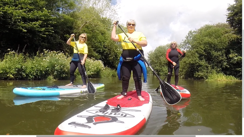 Chichester Canal SUP paddle board hire
