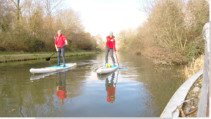 Sup on the Chichester Canal