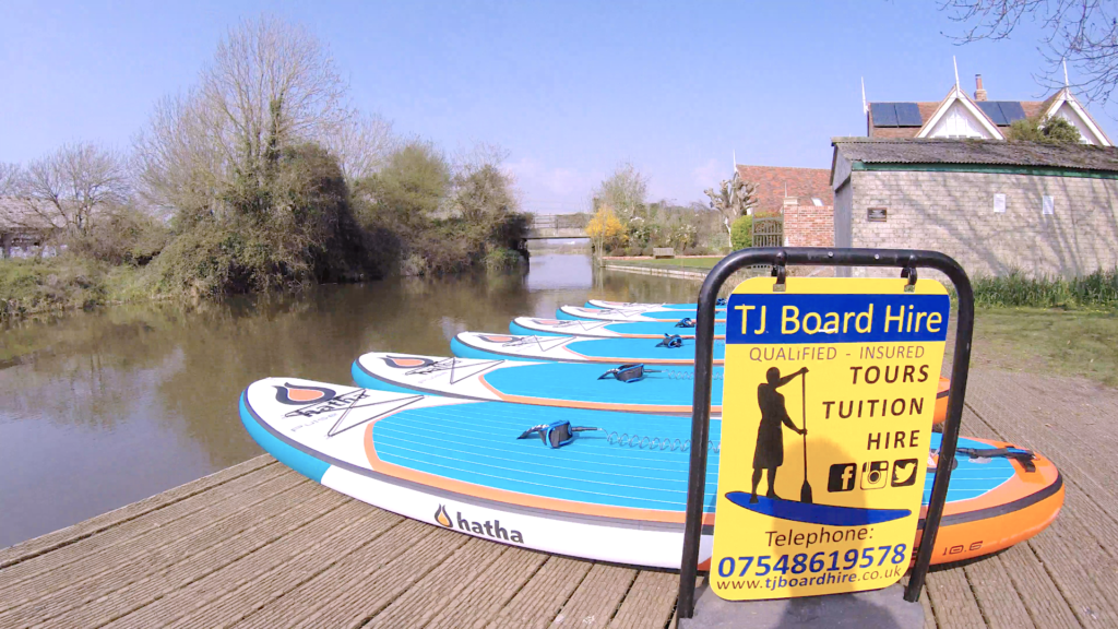 Paddle Board hire at Chichester Canal