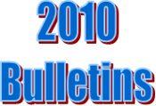 2010 Bulletins