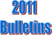 2011 Bulletins