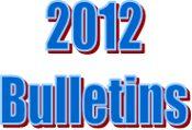 2012 Bulletins