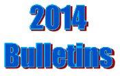 2014 Bulletins