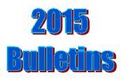 2015 Bulletins