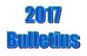 2017 Bulletins
