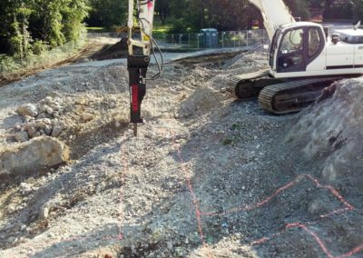 Bournewood Hospital Brookline MA - Construction site work – excavating contractors – heavy equipment – civil construction – siteworks – Westborough – Boston – Metro West – MA – RI – CT – VT – NH