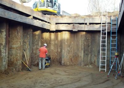Long Pond Sewer Pump Station Plymouth MA - Construction site work – excavating contractors – heavy equipment – civil construction – siteworks – Westborough – Boston – Metro West – MA – RI – CT – VT – NH