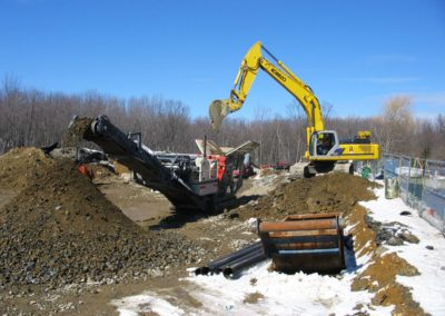 Kimball Towers Woburn MA - Construction site work – excavating contractors – heavy equipment – civil construction – siteworks – Westborough – Boston – Metro West – MA – RI – CT – VT – NH