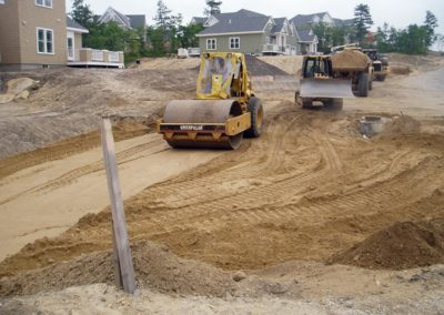 Seton Highlands Plymouth MA - Construction site work – excavating contractors – heavy equipment – civil construction – siteworks – Westborough – Boston – Metro West – MA – RI – CT – VT – NH