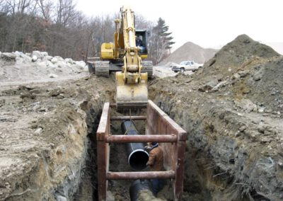 Mall Expansion Walpole MA - Construction site work – excavating contractors – heavy equipment – civil construction – siteworks – Westborough – Boston – Metro West – MA – RI – CT – VT – NH