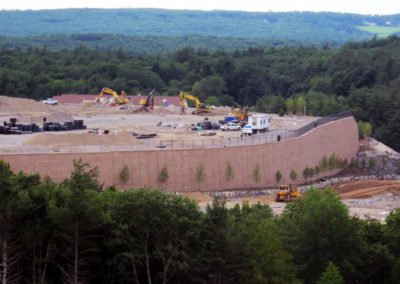 Highland Commons Hudson MA - Construction site work – excavating contractors – heavy equipment – civil construction – siteworks – Westborough – Boston – Metro West – MA – RI – CT – VT – NH
