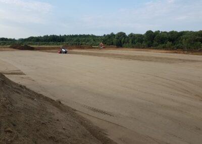 DeBartolo Warehouse Bridgewater MA - Construction site work – excavating contractors – heavy equipment – civil construction – siteworks – Westborough – Boston – Metro West – MA – RI – CT – VT – NH