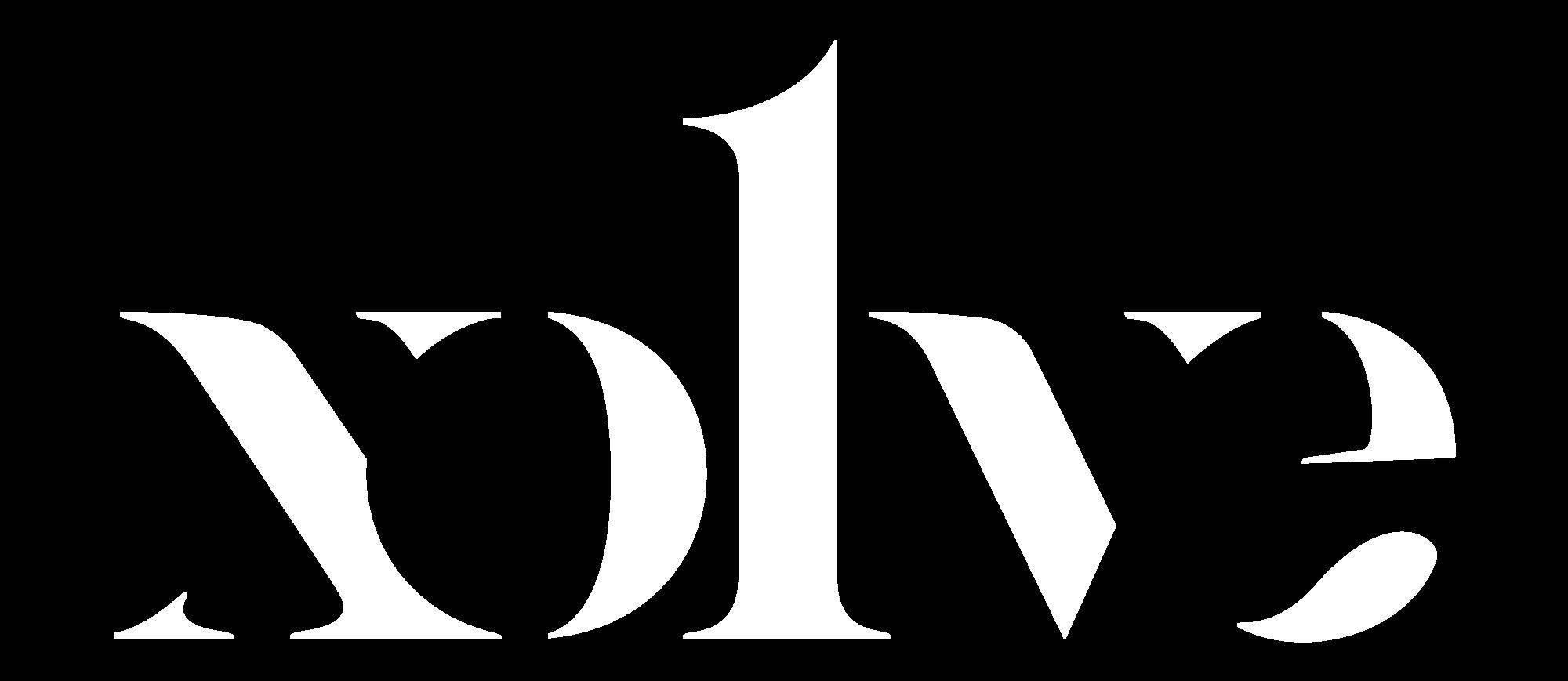 xolve branding creative logo