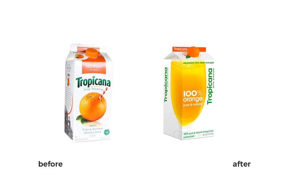 branding mistakes, rebranding mistake, tropicana rebranding, case study