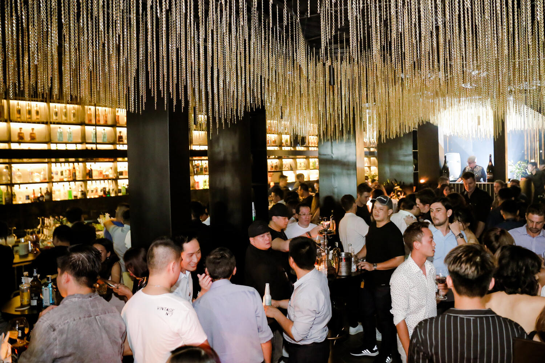 blanchy's lounge, event, xolve branding, night life