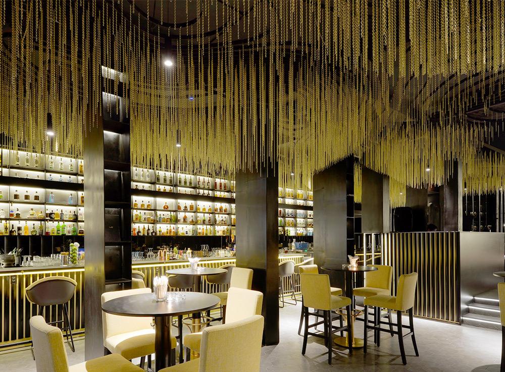 blanchy's lounge, interior design, xolve branding