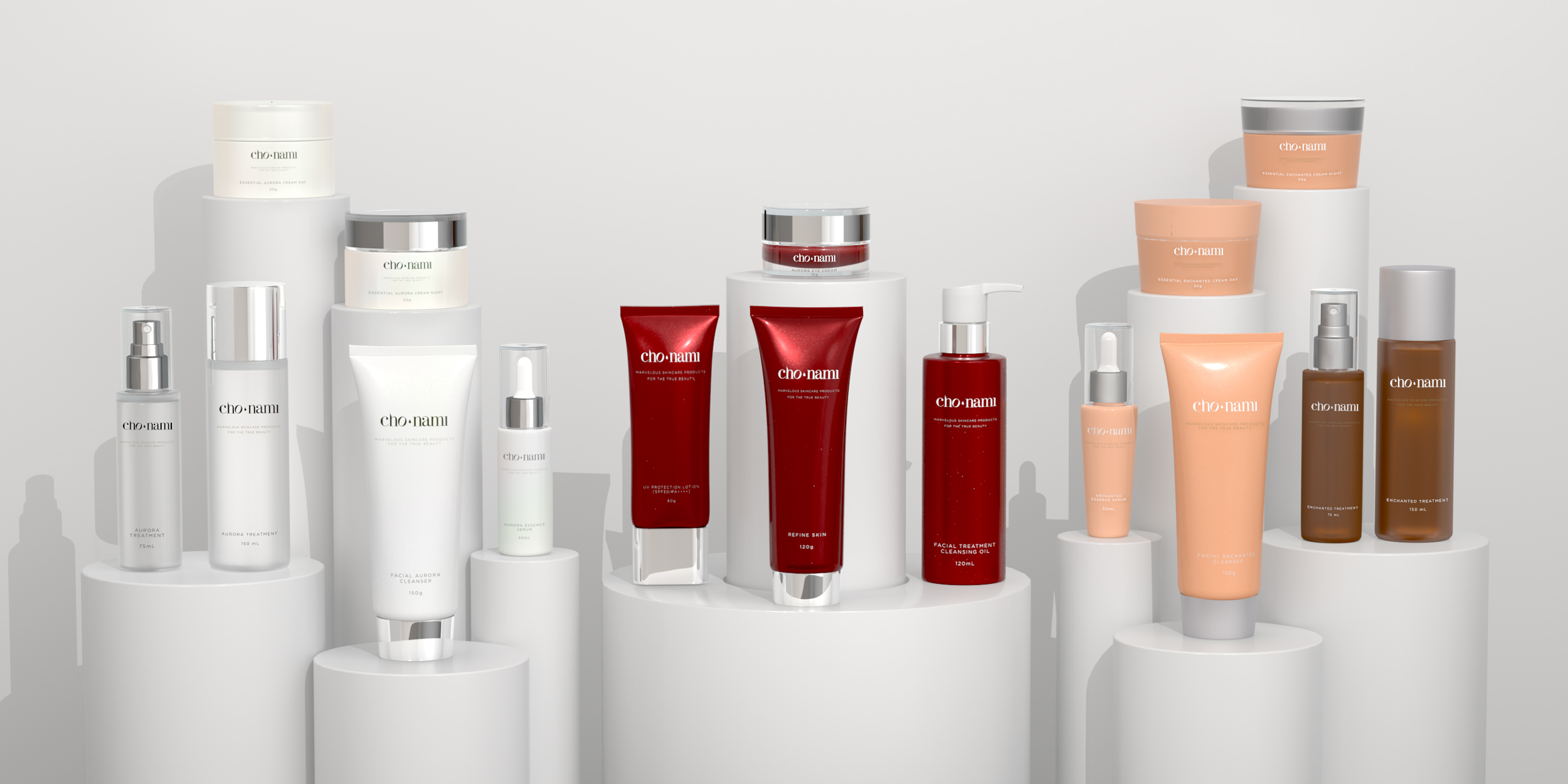 Cho Nami cosmetic product by xolve branding